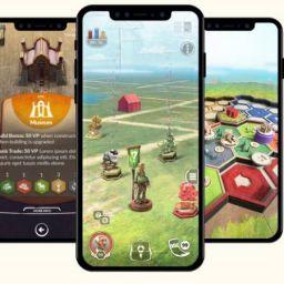 Catan: World Explorers de Niantic sería como Pokémon Go convertido en un juego de mesa AR