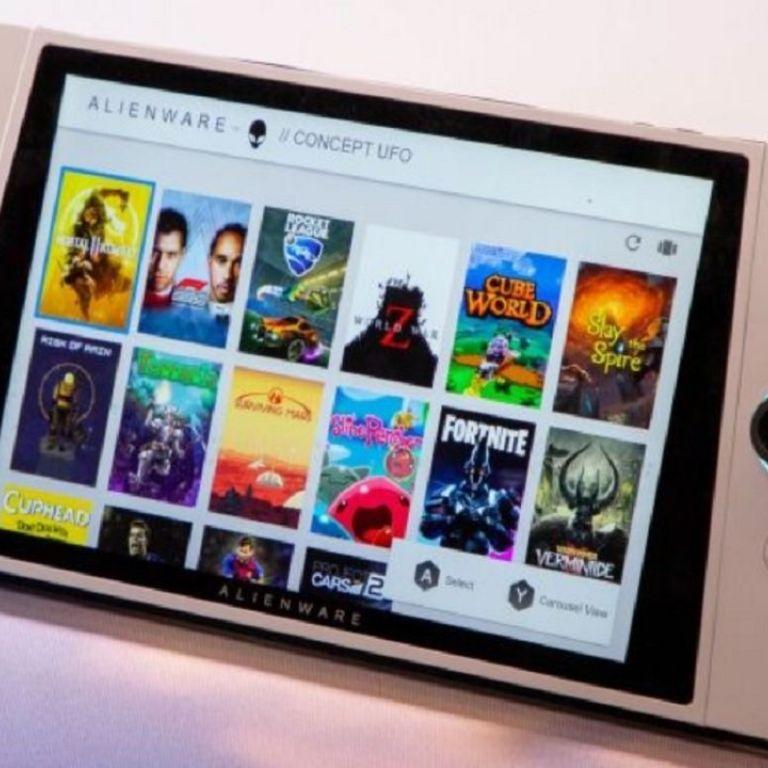 Tiembla Nintendo Switch: Alienware presenta Concept UFO y es superior #CES2020