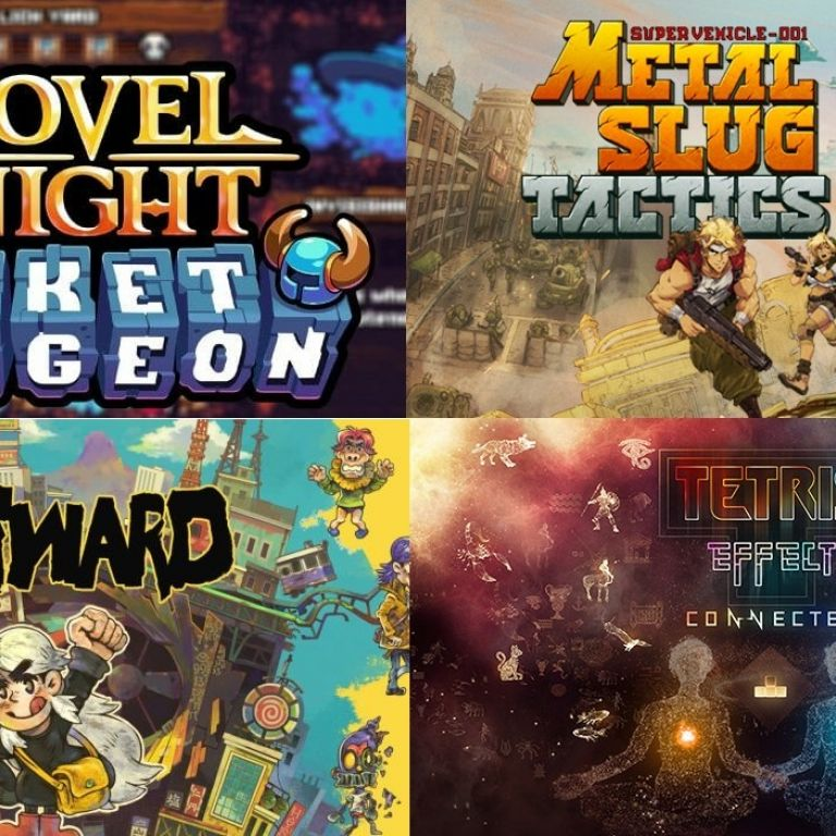 Nintendo: Tetris Effect, Metal Slug Tactics y otros grandes juegos llegan pronto
