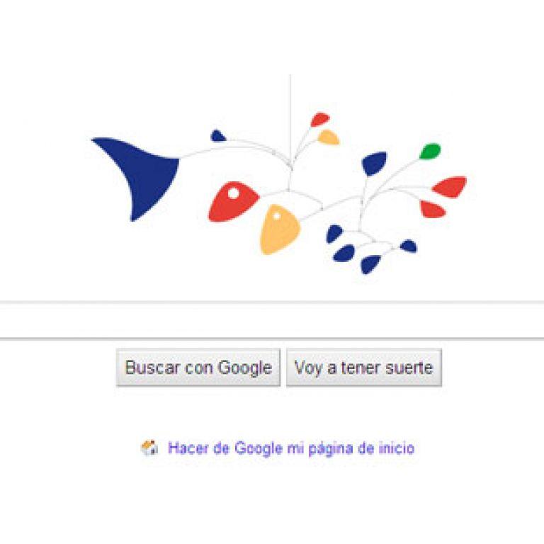 Google rinde homenaje al escultor Alexander Calder