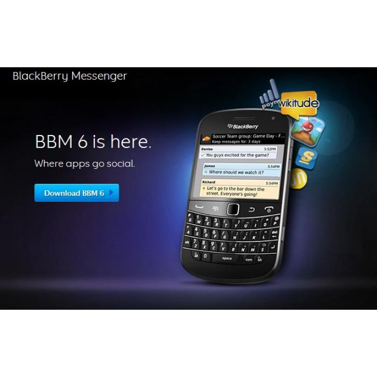 BlackBerry Messenger se moderniza