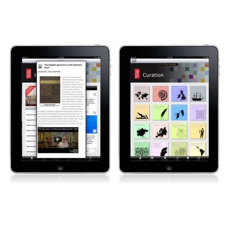 Las obras clásicas de la Biblioteca Británica, ahora en tú iPad