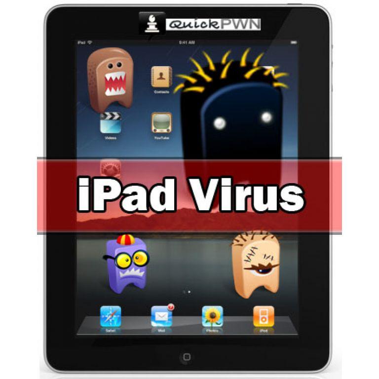 Los usuarios de iPad ya sufren el ataque de virus informáticos.