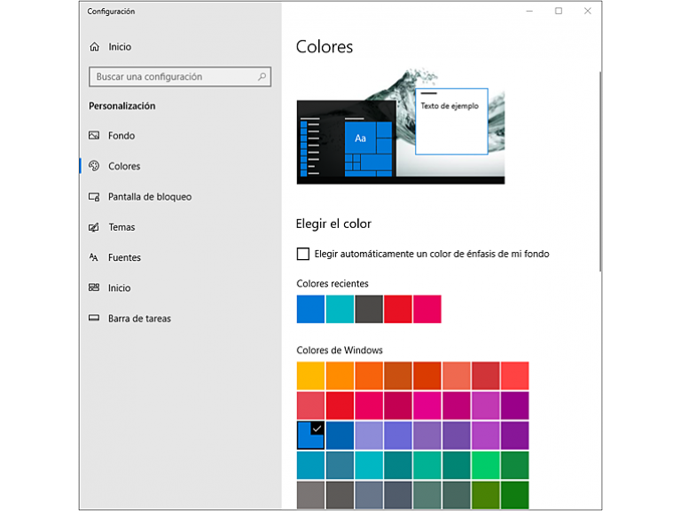 Windows 10: Paso a paso para cambiar el color y el estilo de la barra de tareas