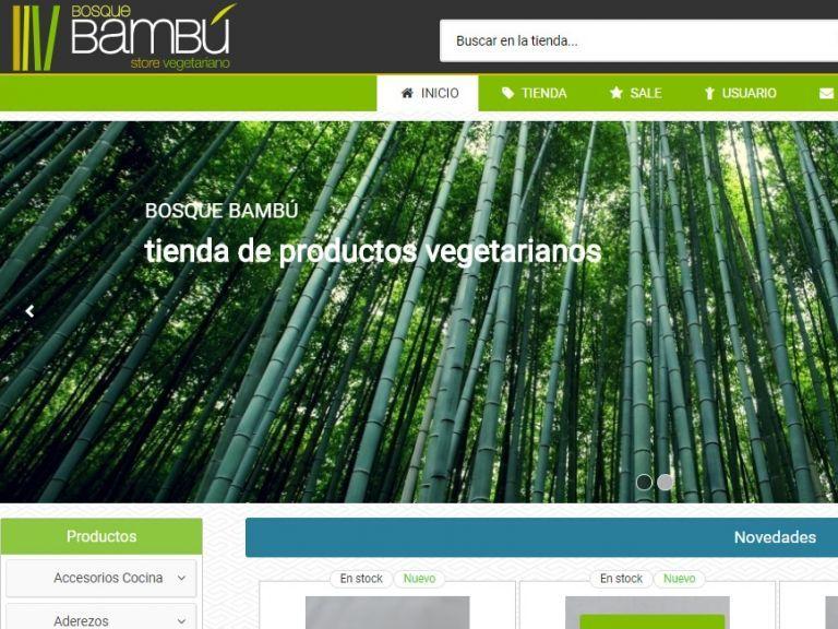 Tienda de productos naturales. - Store Bambú