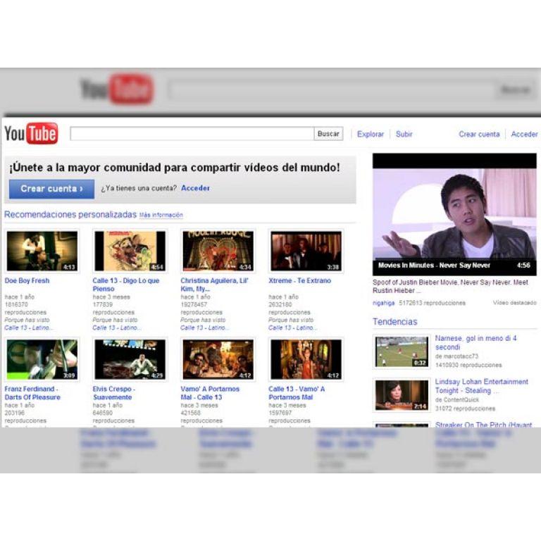 YouTube emite televisión en directo