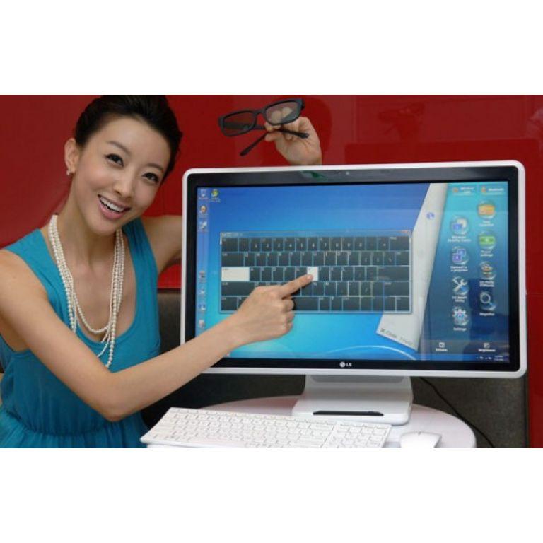 LG presenta su V300, una PC con 3D y pantalla multitáctil