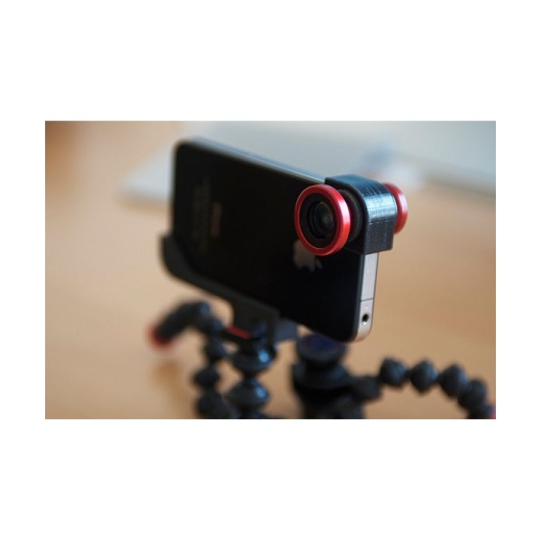 El iPhone 4 con lentes incluidos para obtener fotos de mejor calidad