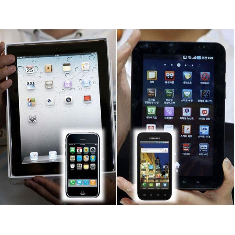 Apple paraliza la venta de Galaxy Tabs de Samsung en Europa