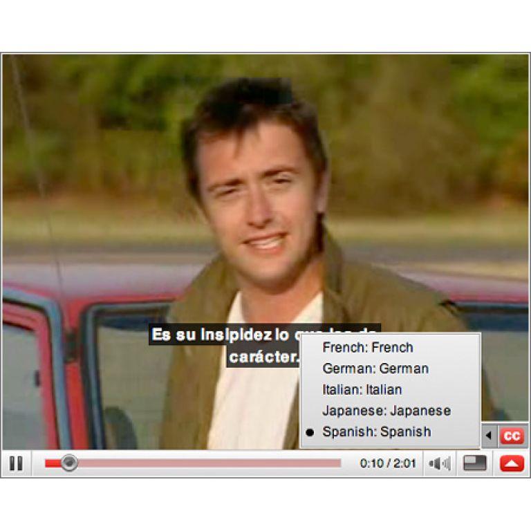 Los subtítulos llegaron a YouTube.