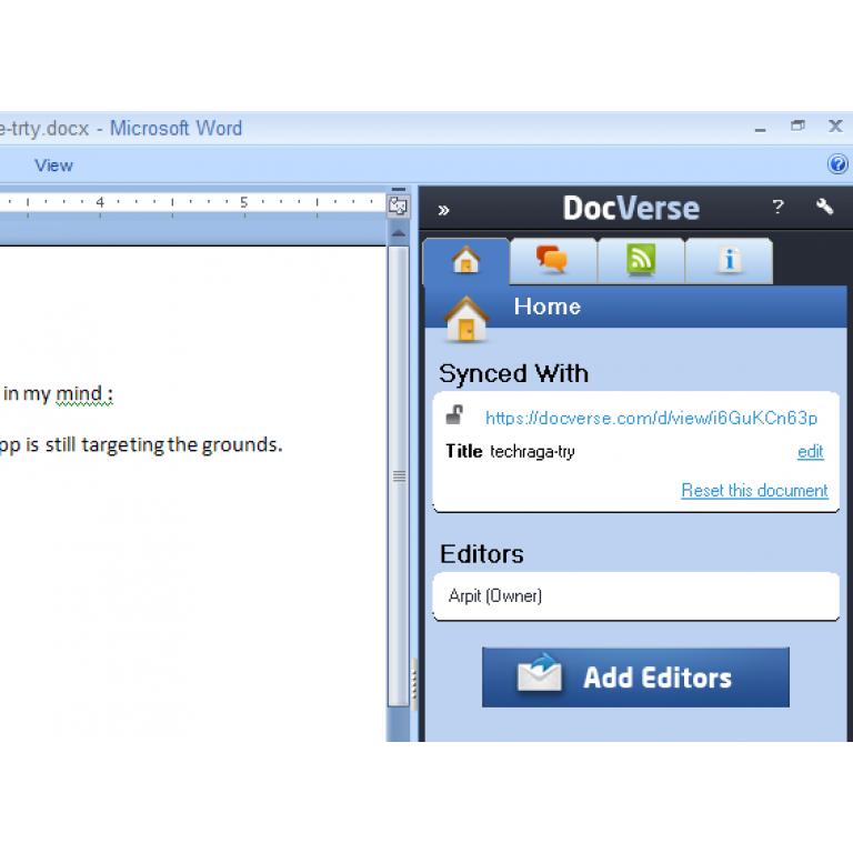 Google compra la empresa DocVerse para integrar Google Docs en Office.