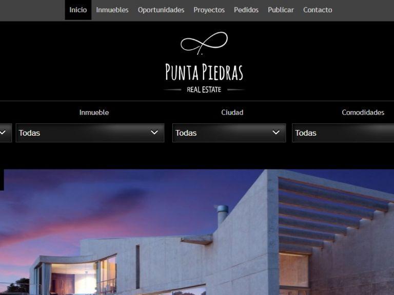 Punta Piedras, Inmobiliaria